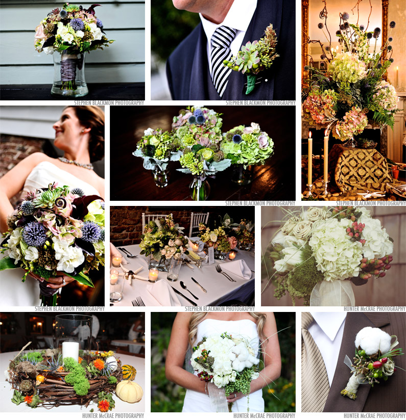 Charleston Florist weddings